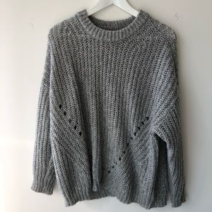 AE chunky loose knit sweater